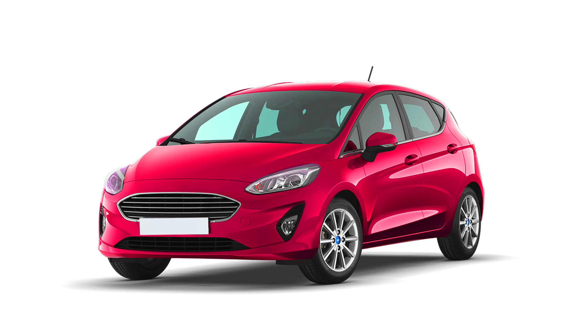 Ford Fiesta red
